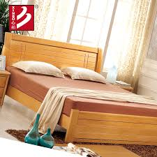 Wooden Bedroom Sets Furniture by Wooden Home Furniture Beech Wood Bed Bedroom Sets Double Bed