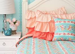 Blue And Coral Bedding Duvet Stunning Lime Green And Grey Bedding Details About Kylie