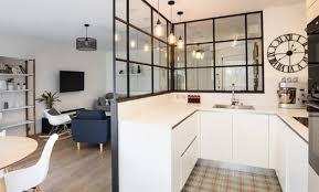 exemple de cuisine ouverte exemple de cuisine en l affordable exemple cuisine ouverte clermont