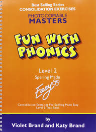 fun with phonics worksheets level 2 spelling made easy amazon