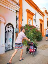Wyoming travel stroller images Chris taylor pushing stroller in la paz bcs mexico 1 2 travel dads jpg
