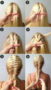 hair braiding styles long hair hang back a beautiful french fishtail braidso easy takes a while to get the