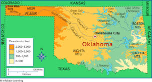 Oklahoma vegetaion images Oklahoma vegetation map gif
