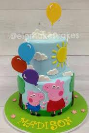 bolo peppa peppa pinterest cake and birthday cakes