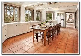Terracotta Floor Tile Kitchen - terracotta floor tile decorating ideas tiles home design ideas