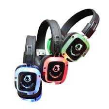 party equipment silent disco clubbing headphone party rental service