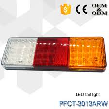 led tail lights for a trailer e mark led trailer light truck tail l waterproof rear combination