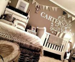 Nature Themed Crib Bedding A Neutral Nature Themed Baby Nursery Decorated In Earth Tones