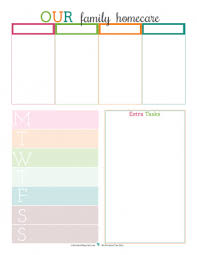 printable daily schedule personal planner free printables