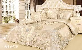 Cream Colored Comforter Amazon Com Tache 6 Piece Royal Wedding Chamber In Cream Faux