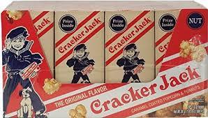 Personalized Cracker Jack Boxes Amazon Com Cracker Jack The Original Flavor Caramel Coated