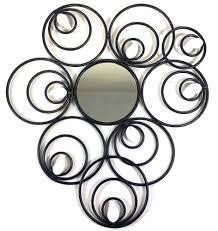 Nice Decoration Metal Circle Wall Art Shining Design Decor