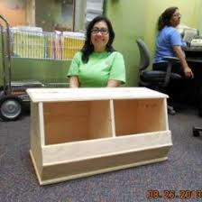 How To Make A Wooden Toy Box by Free Diy Furniture Plans How To Build A Storagepalooza Storage