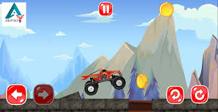 monster truck video game blaze monster truck adventure android apps on google play