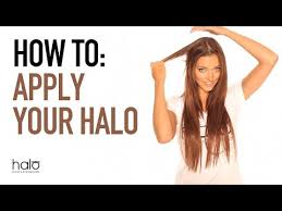 does halo couture work on short hair how to apply your halo hair extensions halo great hair extensions