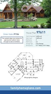 Cabin House Plans Covered Porch by Top 25 Best Craftsman House Plans Ideas On Pinterest Craftsman