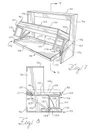 patent us20080163421 tilting furniture system and infinitely