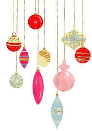 vintage christmas ornaments clipart clipartsgram com