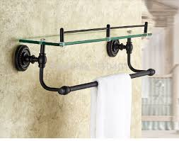 Bronze Bathroom Shelves Bronze Bathroom Shelf Thedancingparent