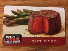 ruth s chris gift cards 50 ruth s chris steakhouse gift card gift card house steak