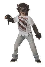 Scary Halloween Costumes Boys Buy Werewolf Costume Child Boys Large Halloween Costumes Creature