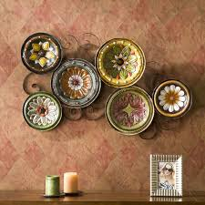 Kitchen Wall Art Decor by Decorative Plates For Kitchen Wall Gallery Including Decor