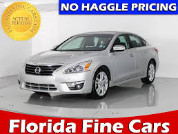 nissan altima 2015 remote used 2015 nissan altima 3 5 sl sedan for sale in hollywood fl