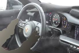 porsche 911 inside check out the interior of the new 2019 porsche 911 autoguide com