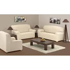 recouvre canapé ensemble couvre canapé stretch 3 places 2 places 1 fauteuil