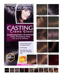L Shade L Oreal Creme Gloss Shade No 300 Darkest Brown L