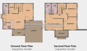 homes for sale with floor plans floor plan of citta italia sapphire house and lot for sale
