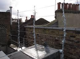 Roof Trellis London Roof Garden U2013 Wire Trellis Ironart Of Bath