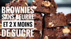 Brownies By Hervé Cuisine Http Brownie Sans Beurre Et 2 Fois Moins De Sucre