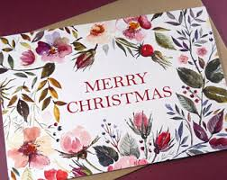 personalized boxed christmas cards boxed cards etsy