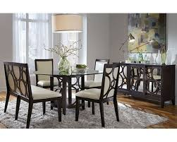 quality dining room furniture najarian formal dining set w round table planet na pl7set