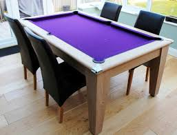 The Classic Pool Dining Table Homegames - Pool dining room table