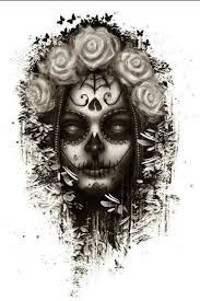 16 best desenhos images on sugar skulls designs
