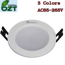 colour changing led ceiling lights led downlight 3w 3 colours change color white warm white yellow down