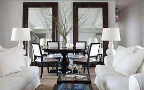 Black And White Dining Room Sets Black And White Dining Chairs Contemporary Dining Room