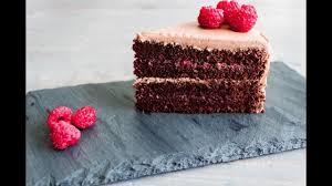 russia chocolate raspberry layered prague cake recipe youtube
