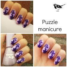 creativenails4fun nail art puzzle manicure