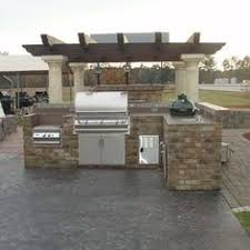 outdoor kitchen islands outdoor kitchen for the traeger pellet grill we custom build for