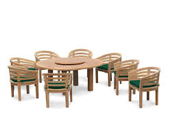 8 seat patio table 8 seater patio set titan round 1 8m table with kensington banana chairs