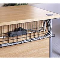 under table cable tray cable management basket tray strap hinge brackets ncdbtbs