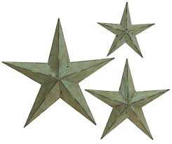 amazon com deco 79 metal wall star 24 inch 18 inch and 12 inch