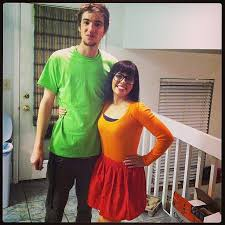Velma Costume Velma And Shaggy From Scooby Doo Halloween Couples Scooby Doo