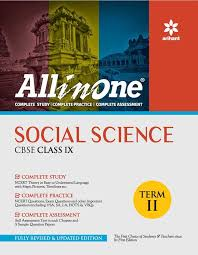 all in one social science cbse class 9 term ii amazon in