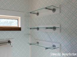 Glass Shelves For Bathrooms Glass Shelves For Bathroom At Home And Interior Design Ideas