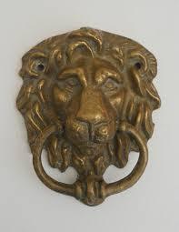 door handles vintage brass lion head door knocker sold on my