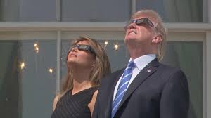 Does Looking At An Eclipse Blind You Yes Donald Trump Really Did Look Into The Sky During The Solar